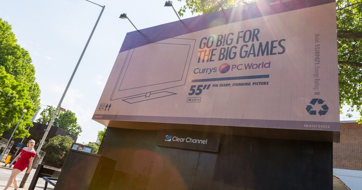 Currys PC World billboard special