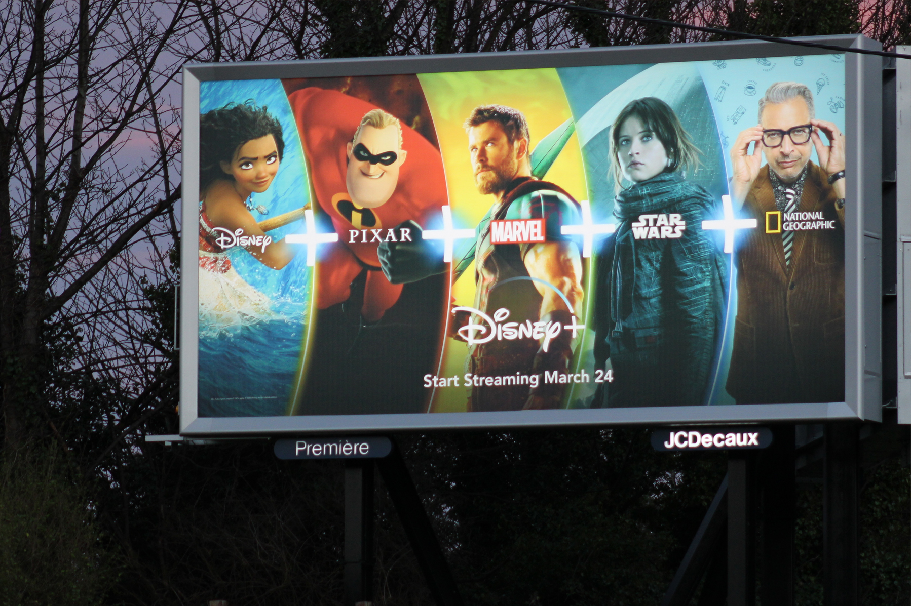 Disney+ Billboard