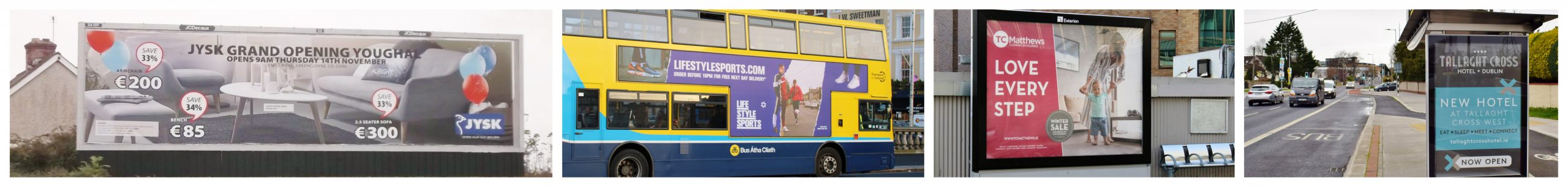 Outdoor advertising Ireland
