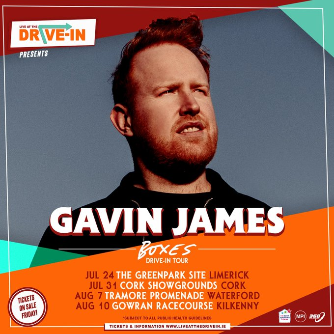 Drive In Gigs with Gavin James