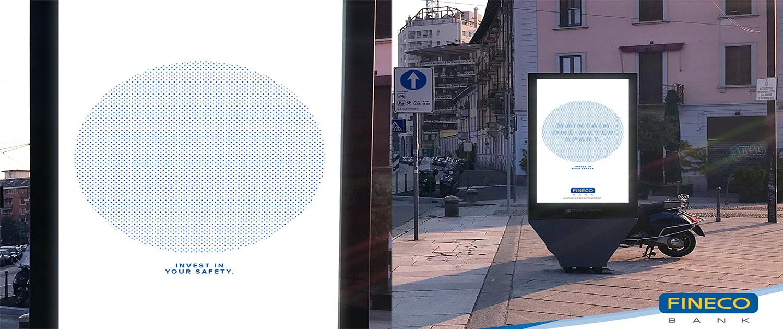 Social Distance Billboard