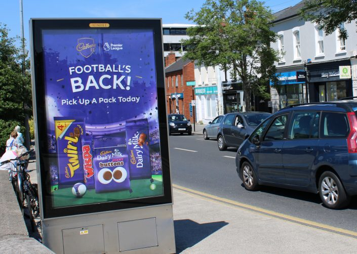 Cadbury Footballs Back