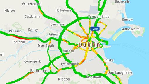 TomTom Traffic Dublin