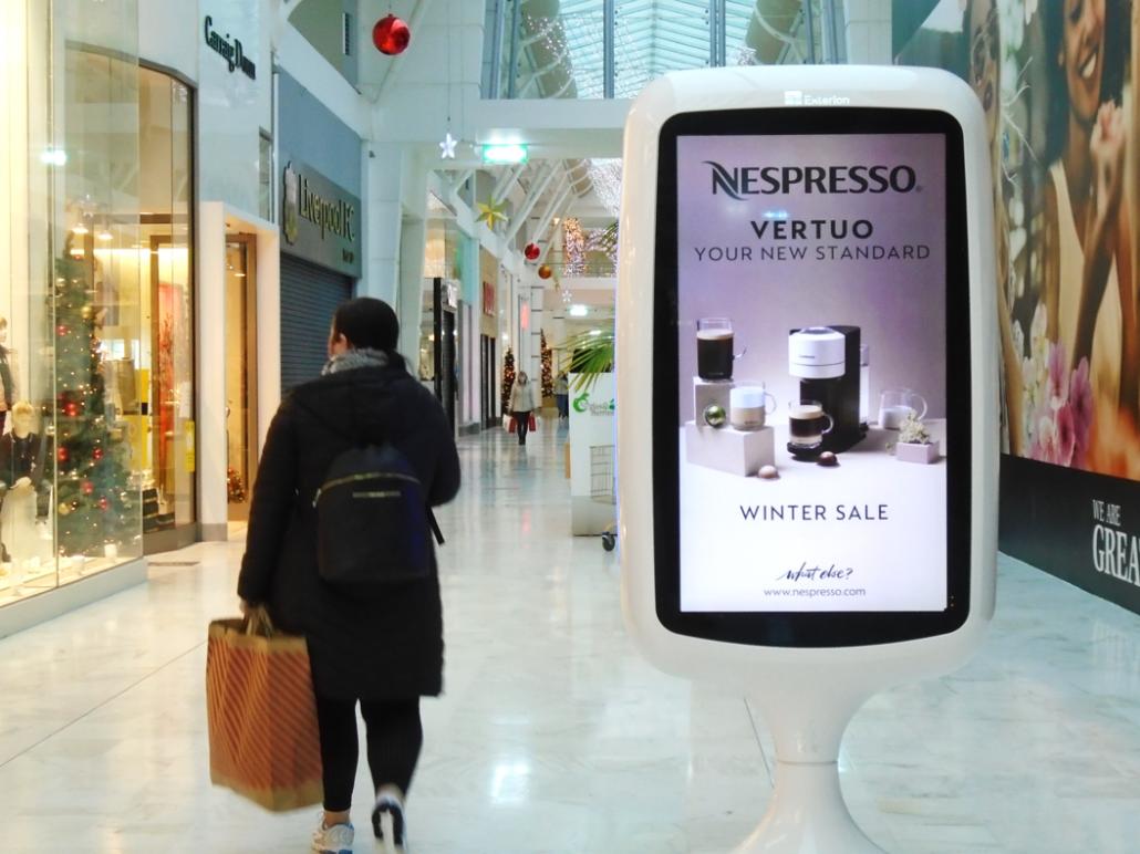 Retail Nepresso OOH