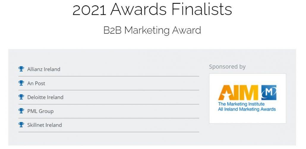 AIM Awards B2B