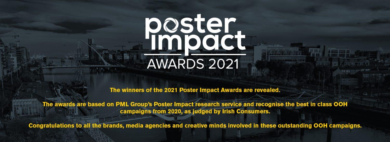 Header banner for Poster Impact Awards 2021