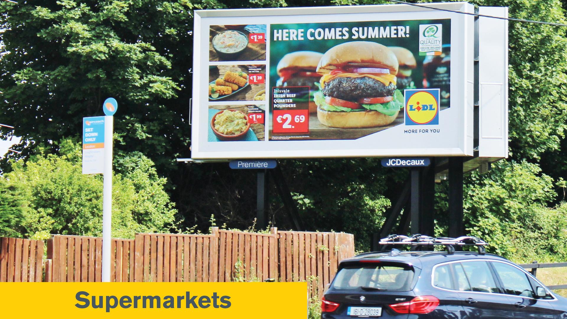 Poster Impact Awards Supermarkets Winner