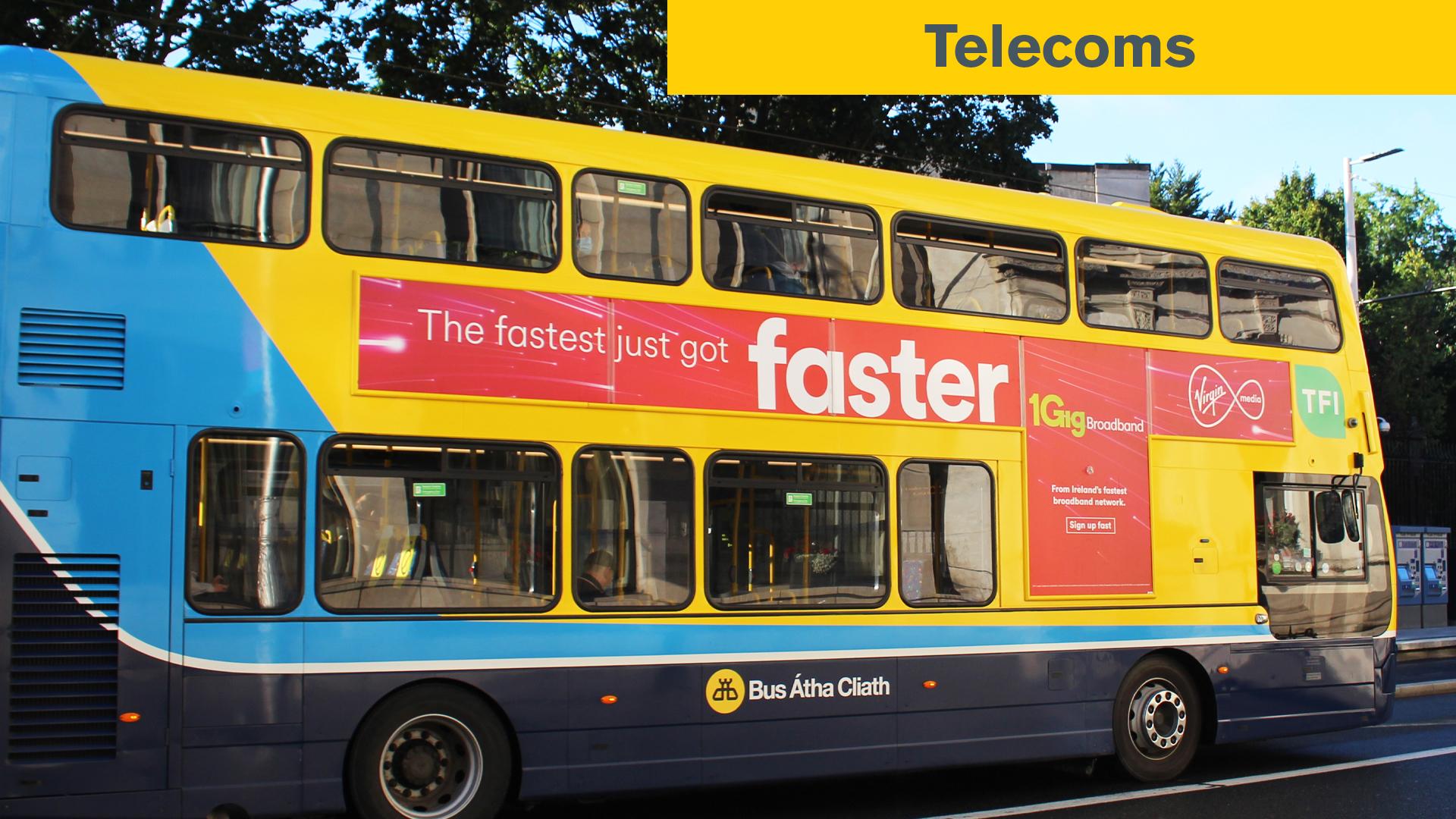 Poster Impact Awards Telecoms Winner